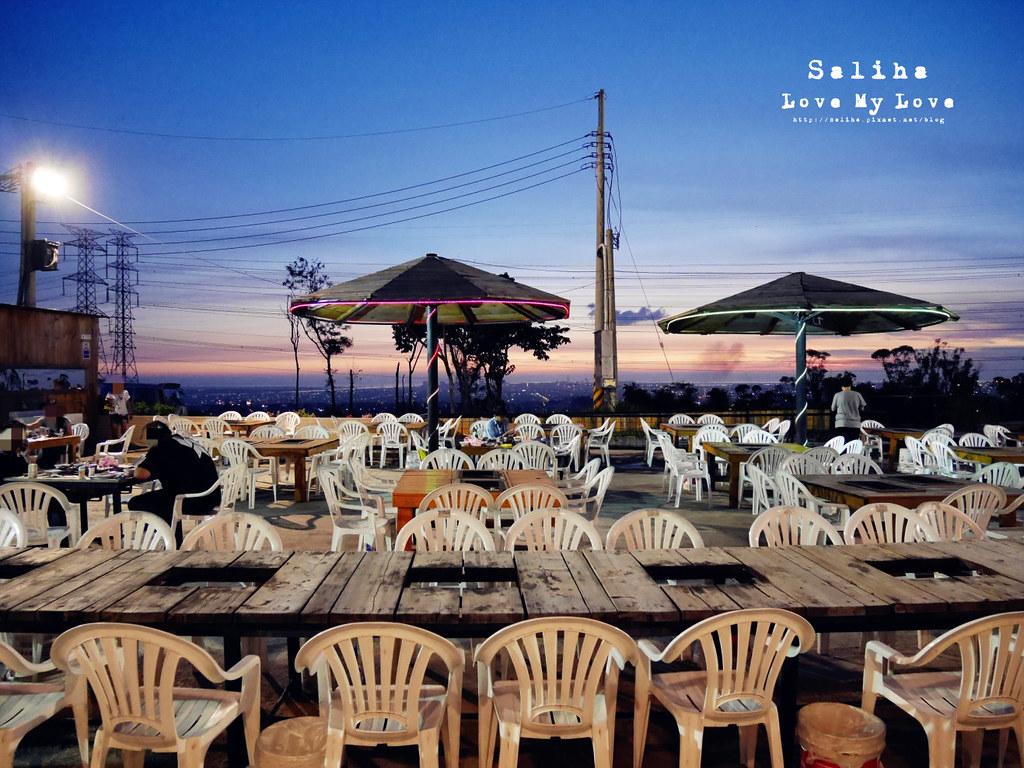 台中沙鹿區夜景餐廳推薦蠔膽你來露天燒烤吃到飽 (17)