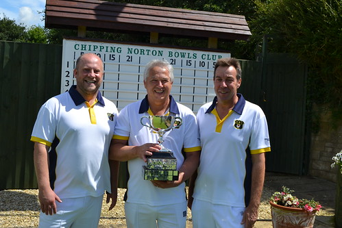 Men's Triples winners 2017