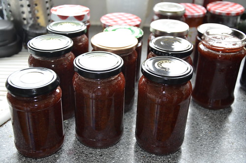 redcurrant and rhubarb jam July 17 (6)