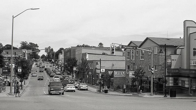 Corner of Brock and Toronto