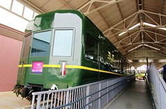 Twilight Express passenger train observation car at the Kyoto Railway Museum 8529