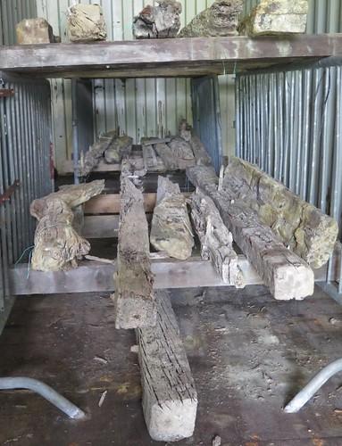 Waggonway timbers
