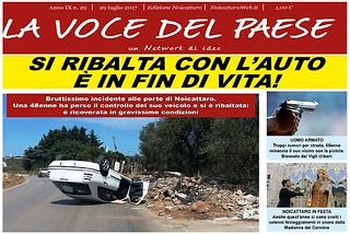Noicattaro. Prima pagina n. 29-2017 front