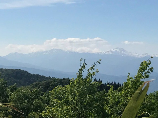 鷲ヶ岳 桑ヶ谷ルート 銚子ヶ峰~白山