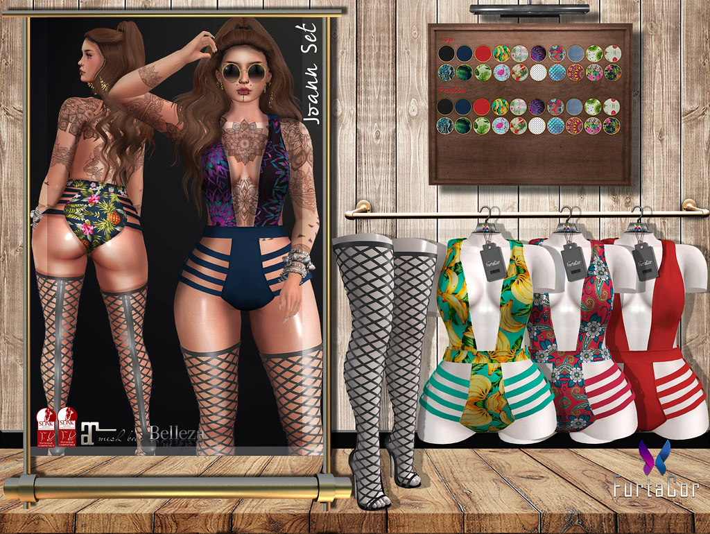 ::::FurtaCor:::Joann Bodysuit - SecondLifeHub.com