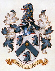 Hall family coat of arms