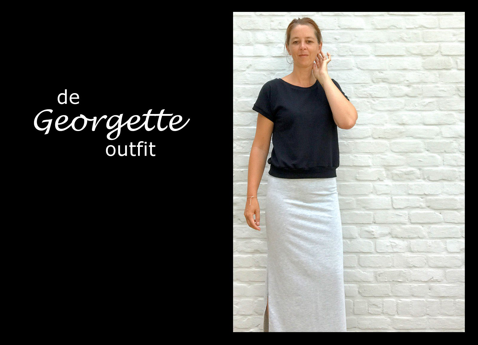 Georgette skirt + top