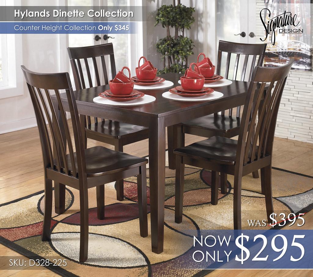 Hylands Dining D258-225-DINNERWARE