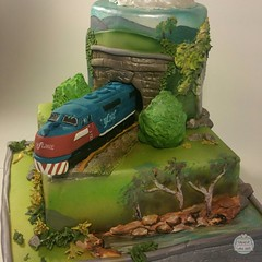 Train cake by Creative Cake Art Melbourne  5800680