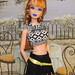 Midge/Steffie Goes Goth/Punk by The doll keeper