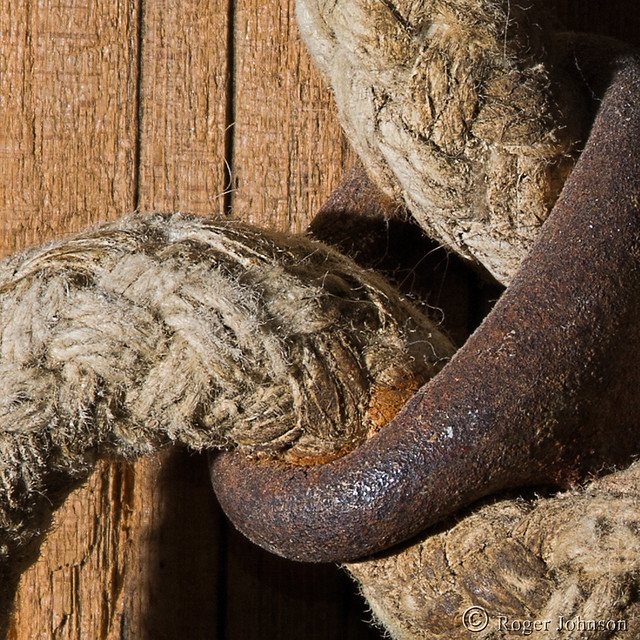 Rust, Rope And Old, Nikon D7100, AF Micro-Nikkor 105mm f/2.8