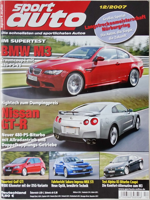 sport auto 12/2007