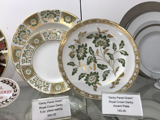 Royal Crown Derby plates