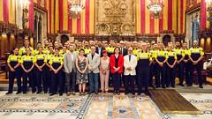 dt., 18/07/2017 - 09:33 - Ada Colau presideix l'acte de benvinguda als nous agents de la Guàrdia Urbana procedents de la convocatòria de mobilitat interadministrativa