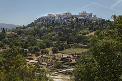 ?thens, ancient agora and Acropolis