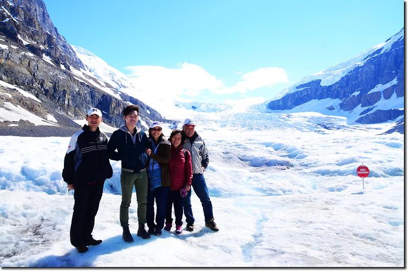 On Athabasca Glacier (2)