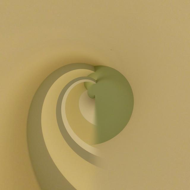 Ceiling Detail  : Tiny Planet, Panasonic DMC-TZ20