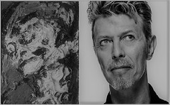 david bowie and frank auerbach-head-of-gerda-boehm