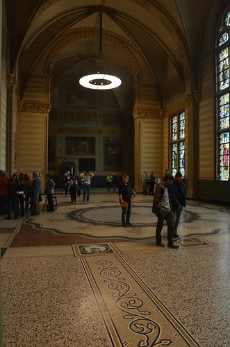 Eine malerische Halle im Rijksmuseum