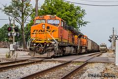 BNSF 6217 | GE ES44AC | NS Harris Yard