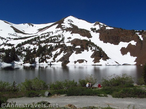 Views from the parking area at the Virginia Lakes Trailhead, Humboldt-Toiyabe National Forest, California