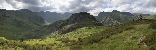 Lingmoor Fell Photography Session Panorama