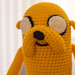 Jake the Dog Crochet Plush