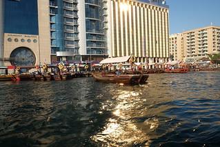 Abra on Dubai Creek