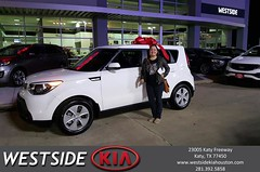 #HappyBirthday to Angelica from Rubel Chowdhury at Westside Kia!