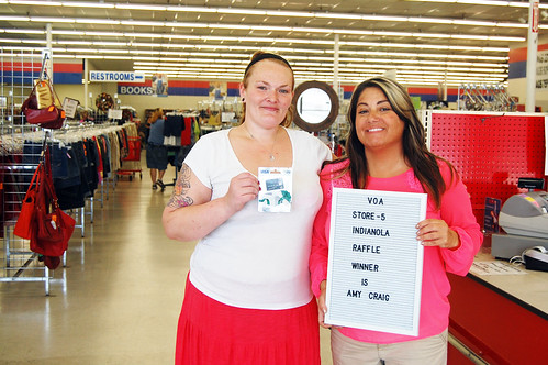 Thrift Raffle Winners