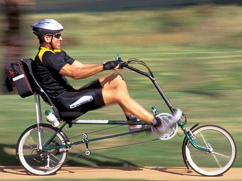 चित्र ९: आरामखुर्ची सारखी सायकल