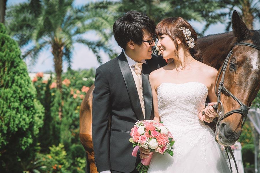 戶外婚禮,台北婚攝,婚禮,婚禮攝影,維多利亞酒店,wedding,騎馬進場