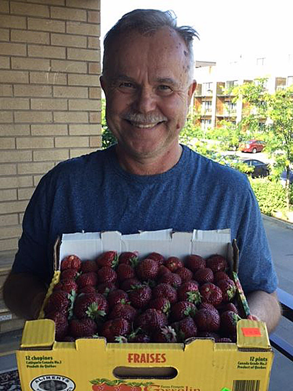 fraises balcon moi