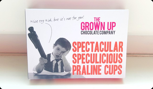 The Grown Up Chocolate Company Spectacular Speculicious Praline Cups