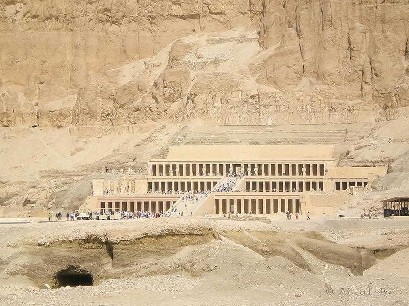 Templo de Hatshepsut. Deir el Bahari, Egipto