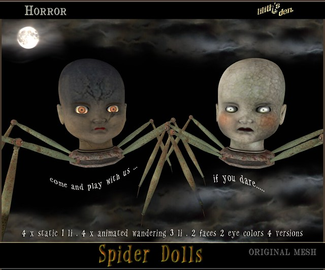 LD Spider Dolls