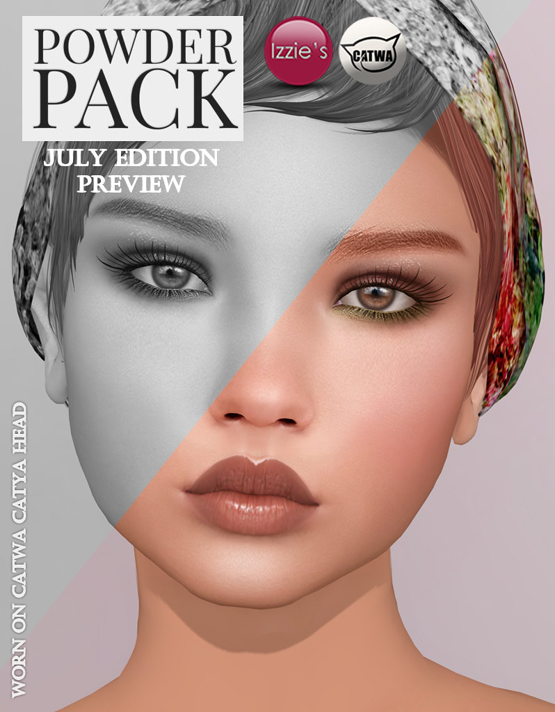 Powder Pack Catwa July Edition Preview - SecondLifeHub.com