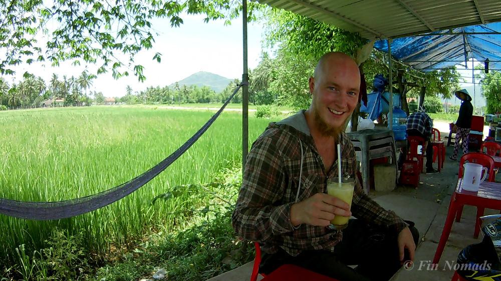 Vietnam sugar cane juice