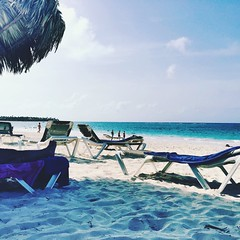 Beach woes.