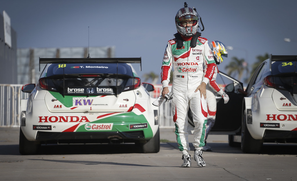 MONTEIRO Tiago (prt) Honda Civic team Castrol Honda WTC ambiance portrait during the 2017 FIA WTCC World Touring Car Race of Argentina at Termas de Rio Hondo, Argentina on july 14 to 16 - Photo Francois Flamand / DPPI