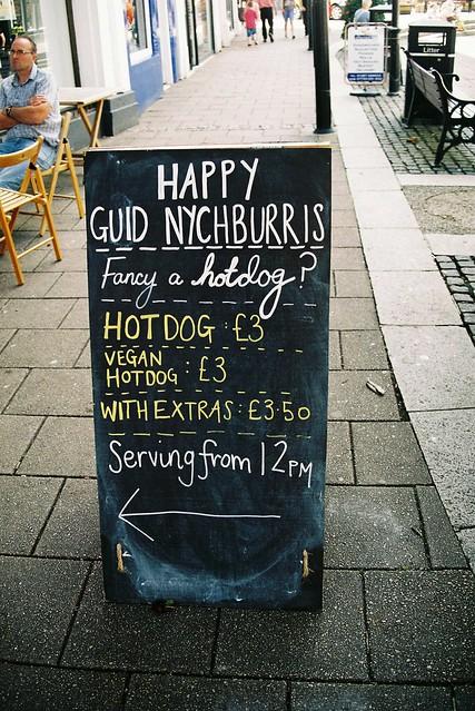 Fancy A Hotdog ?