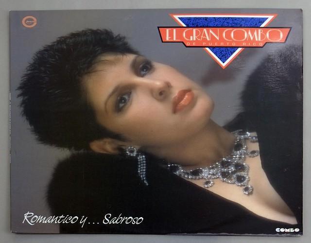 """GRAN COMBO ROMANTICO Y SABROSO COLUMBIA 12"""" LP VINYL"""