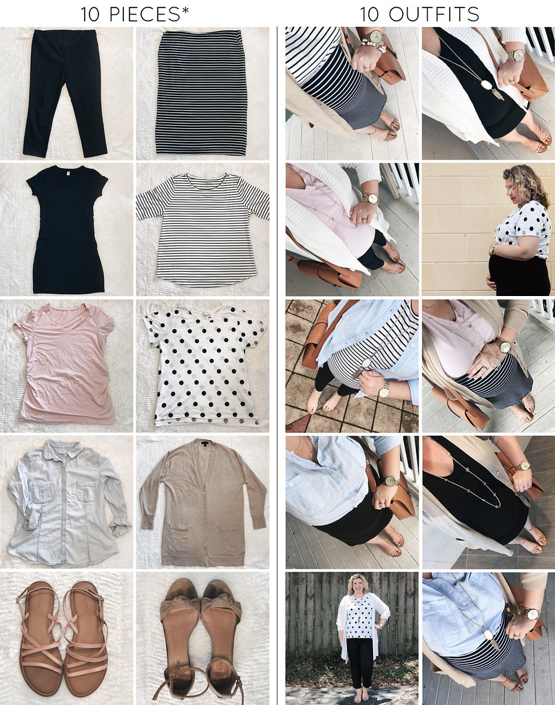 10 pieces 10 outfits