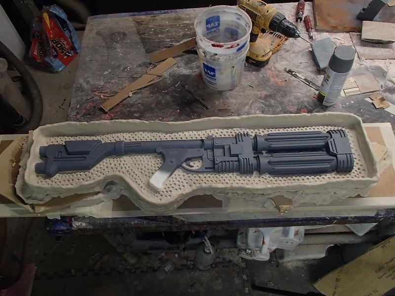 E-22 Prepped for Molding