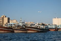 Boats on Dubai Creek