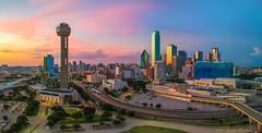 Downtown Dallas (Drone)