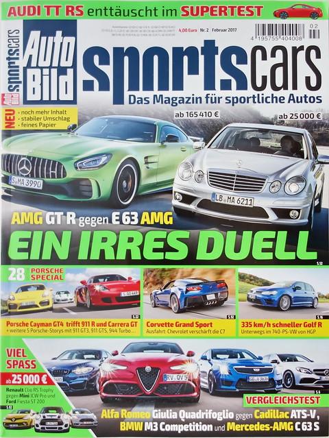Auto Bild Sportscars 2/2017