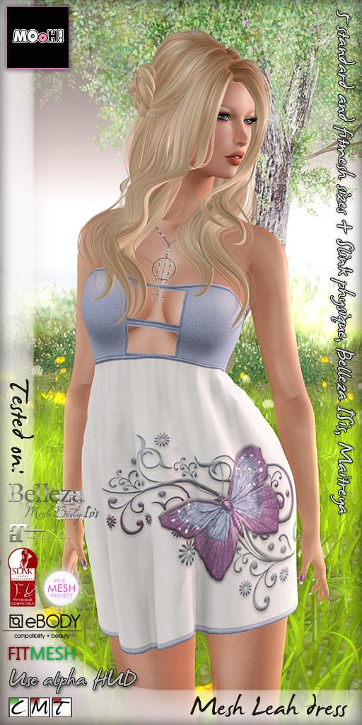 Leah dress - SecondLifeHub.com