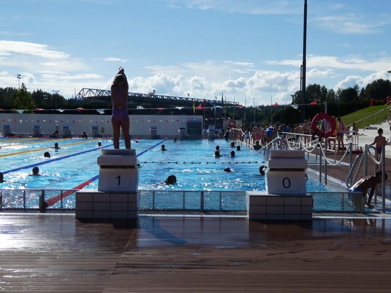 Leppävaara swimming pool, Espoo