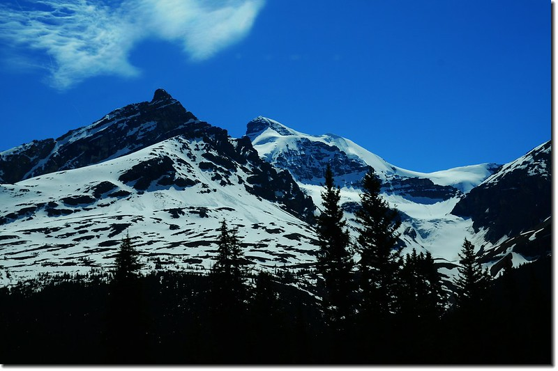 The scenery along  AB-93 N(Icefields Parkway) (14)